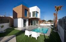 Недвижимость в Испании, Новые виллы рядом с гольф полем от застройщика в Вильямартин