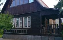 Продается дача - 2-х этажный дом из бруса площадью 80 м2 на участке 6 соток