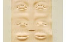 Продам искусственная кожа для практики татуажа 3D брови, губы и глаза