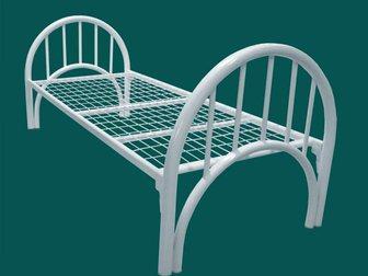 Увидеть foto Мебель для спальни Кровати металлические дешево для рабочих 12921367 в Москве