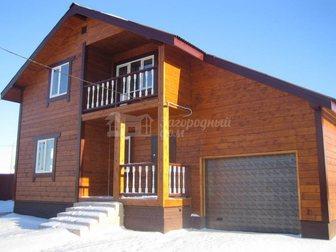 Скачать бесплатно foto Загородные дома Коттедж Калужское шоссе 250кв, м, на 15 сотках 28644677 в Москве