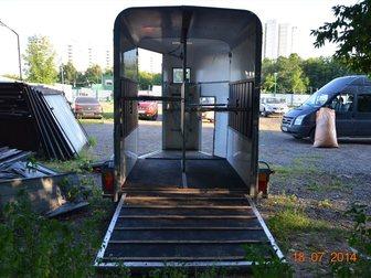 Увидеть фотографию Прицепы для легковых авто Коневоз bateson на 2 лошади с 2 трапами 32300576 в Москве