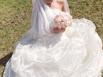 Свежее фотографию Другие предметы интерьера Супер свадебное платье в отл, состоянии, 32402691 в Москве