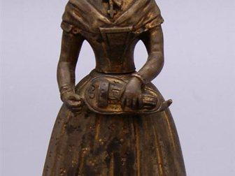 Скачать бесплатно фото  Колокольчик для прислуги Дама, Европа, 19 век 32470046 в Москве