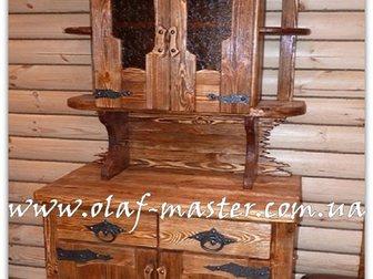 Просмотреть foto  Мебель из дерева ручной работы под старину 32515554 в Москве