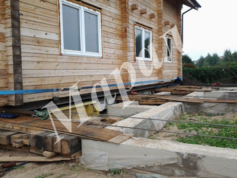 Смотреть фотографию Строительство домов Затопило дом? Подъём домов 32521043 в Москве