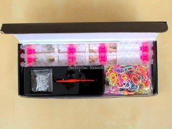 Смотреть фотографию Детские игрушки Набор для плетения Rainbow Loom Band от loomnsk 32555683 в Новосибирске