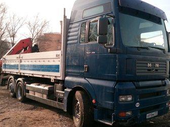 Уникальное фотографию Спецтехника MAN TGA 26, 430 2004г, с КМУ 32634460 в Москве
