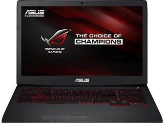 Смотреть изображение Ноутбуки ASUS Republic Of Gamers G751JY 17,3 игровой ноутбук - черный алюминий 32669739 в Москве