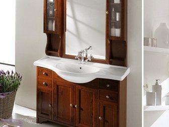 Скачать фотографию Мебель для ванной Тумба с раковиной Eban Gemma 120 32695980 в Москве
