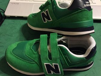 Скачать бесплатно фотографию Детская обувь Кроссовки New Balance р, 35 новые 2 пары 32701190 в Москве