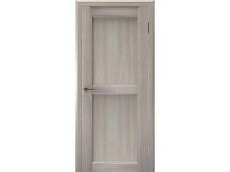 Увидеть foto Отделочные материалы Межкомнатная дверь Европан, ЭКО-шпон, Urbano 1, Дуб серый глянец, 32794632 в Москве