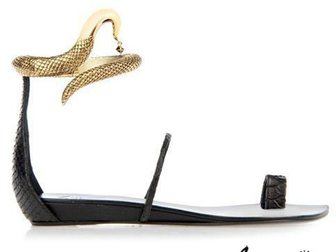 Просмотреть foto Женская обувь Босоножки Giuseppe Zanotti Snake 32814666 в Москве
