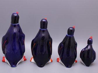 Просмотреть фото  Набор графинов Пингвины, ЛФЗ, 1950-60 г, 32853698 в Москве
