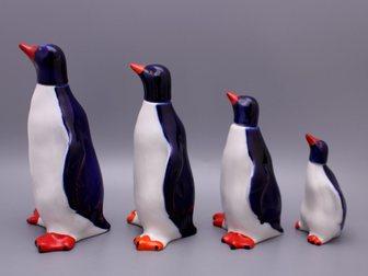 Увидеть изображение  Набор графинов Пингвины, ЛФЗ, 1950-60 г, 32853698 в Москве