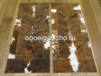 Новое фотографию Ковры, ковровые покрытия Прикроватные коврики из шкур коров 32884028 в Москве