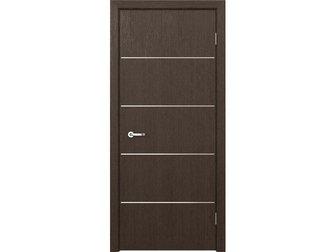 Увидеть изображение Отделочные материалы Межкомнатная дверь фабрики Кредо, коллекция Модерн, ПДГ 103 венге, 32919601 в Москве