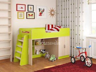 Уникальное фотографию  Детская кровать чердак Легенда 2 новая 33014719 в Москве