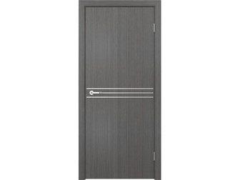 Уникальное изображение  Межкомнатная дверь Кредо, Модерн, ПДГ 123 дуб седой, 33087905 в Москве