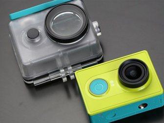 Уникальное фотографию  Экшн камера Xiaomi Yi Basic Edition! Оригинал! 33104989 в Москве