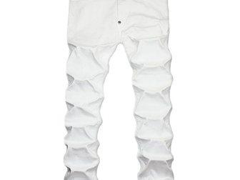 Свежее изображение Мужская одежда Мужские джинсы Philipp Plein Shark 33105105 в Москве