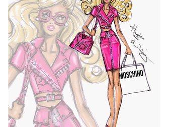 Свежее изображение Женская одежда Футболка женская Moschino Barbie 33120124 в Москве