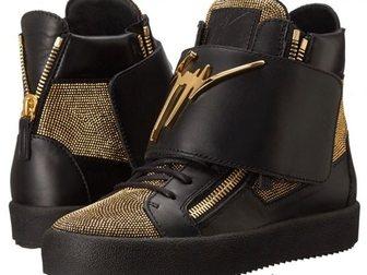 Просмотреть фотографию Мужская обувь Сникерсы Giuseppe Zanotti High-Top Diamonds 33290910 в Москве