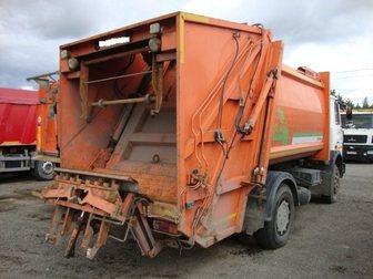 Увидеть фотографию  Купить б у мусоровоз МКЗ-3402 на шасси МАЗ-5337А2, 2012 год выпуска, в полностью исправном техническом состоянии 33308688 в Москве