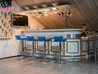Увидеть изображение Производство мебели на заказ Стойка барная из шпона и массива дуба 33316769 в Москве
