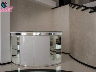 Увидеть фото Офисная мебель Стойка администратора с каркасом из качественного МДФ 33316885 в Москве