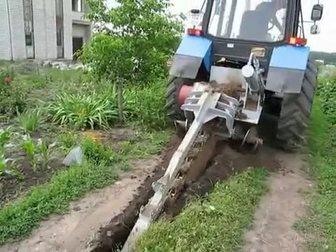 Смотреть фотографию Спецтехника Услуги грунтореза (глубина траншеи до 1,8 метра) 33537833 в Москве