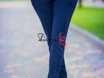 Скачать изображение Женская одежда Классические синие брюки 33663390 в Москве