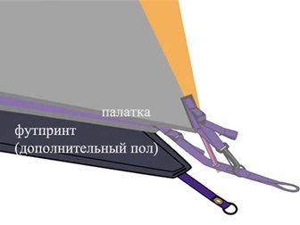 Просмотреть фото Товары для туризма и отдыха Футпринт (дополнительный пол) для палатки MSR Hubba Hubba 33759096 в Москве
