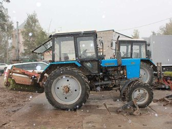 Скачать бесплатно изображение  Мтз 82, 1 Трактор 2013-й год выпуска + навеска 33768603 в Москве