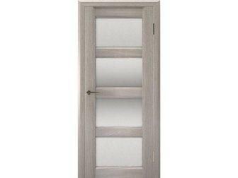 Новое фотографию  Межкомнатная дверь Европан, ЭКО-шпон, Urbano 4, Дуб серый глянец, 33827442 в Москве