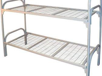 Смотреть изображение  Кровати металлические для лагеря, кровати для гостиницы, кровати оптом, кровати для рабочих, кровати для турбаз, 33918182 в Астрахани