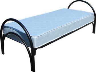 Просмотреть изображение  Кровати металлические для лагеря, кровати для гостиницы, кровати оптом, кровати для рабочих, кровати для турбаз, 33918182 в Астрахани