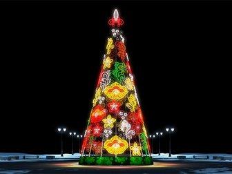 Свежее фото Разные услуги Монтаж сборных конструкций, новогоднее оформление 33925208 в Москве