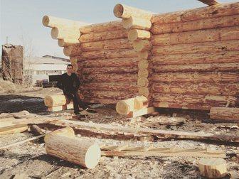 Скачать бесплатно foto  сруб бани 6 на 4 с двумя перегородками из сосны диаметром 30 сантиметров 33981536 в Новосибирске