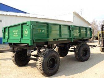 Смотреть изображение Прицеп Прицеп тракторный 2ПТС-8 34026396 в Москве