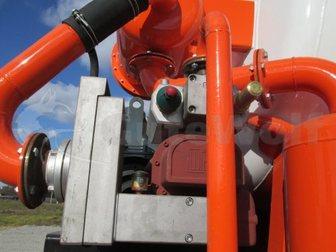 Смотреть фотографию  Цементовоз GuteWolf, 36м3, вакуумный с системой самозагрузки/саморазгрузки 34041398 в Москве