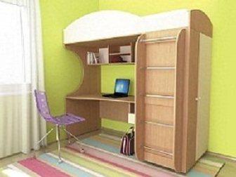 Скачать бесплатно foto Детская мебель Кровать детская (3-12 лет) Облачко 1 34043479 в Москве