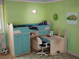 Свежее изображение Детская мебель Детская кровать Караван 9 34268956 в Москве