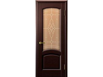 Смотреть фотографию  Межкомнатная дверь фабрики LUXOR, Лаура, венге, ПО, стекло бронзовое, 34326340 в Москве