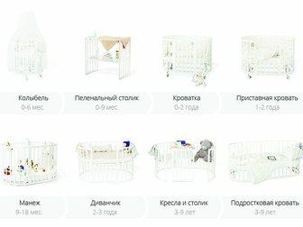 Увидеть foto  Топ! Кровать-трансформер nido magia bianco 34470642 в Москве