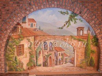 Свежее фотографию  3д живопись, Декоративная штукатурка, Роспись стен 34483840 в Волгограде