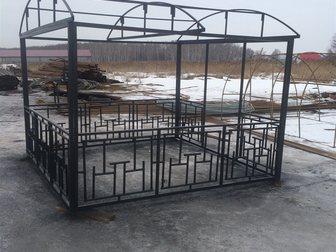 Увидеть фотографию Строительные материалы Каркас беседки, 34538043 в Москве