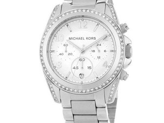Увидеть фотографию Часы Часы женские MK Blair, серебряные 34698374 в Москве
