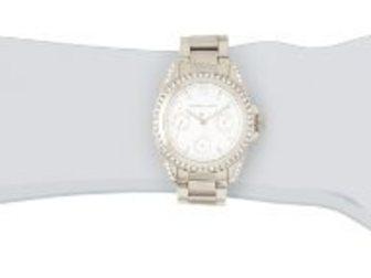 Смотреть foto Часы Часы женские MK Blair, серебряные 34698374 в Москве