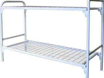 Просмотреть фотографию Мебель для спальни Оптовая компания, предлагает металлические кровати для бытовок, общежитий, для рабочих, 34706578 в Астрахани